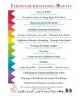 CHEVALET DE COMPTOIR : Werbung Pflege Sitzung