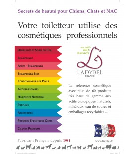 CHEVALET DE COMPTOIR : produits pros